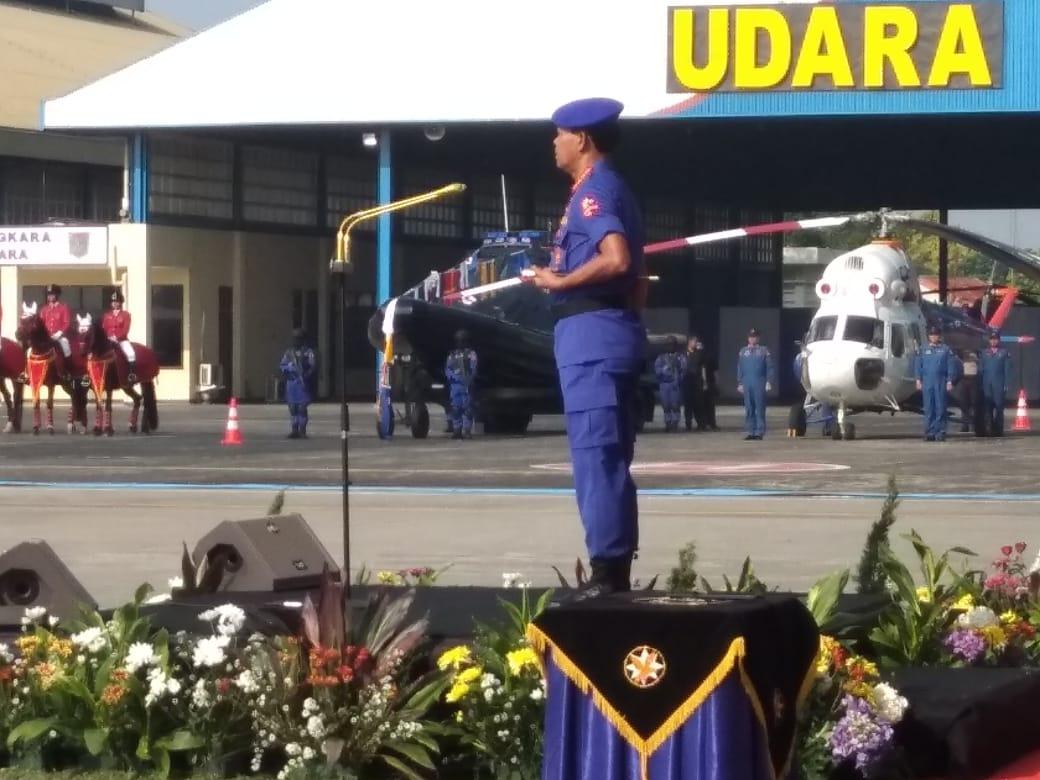 Kapolri pimpin langsung Upacara Peringatan HUT Ke-69 Korpolairud tahun 2019 - Brigade News