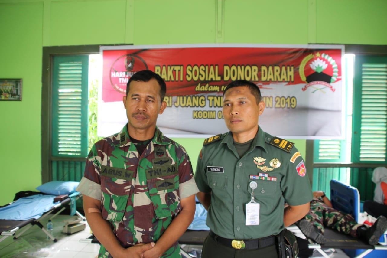 Hari Juang TNI AD Tahun 2019, Kodim Cilacap Gelar Bakti ...