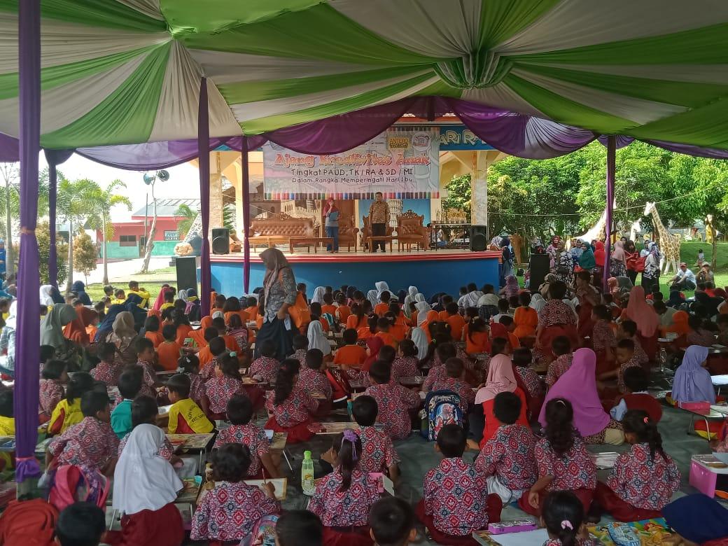 Ribuan Anak Anak TK Dan SD Se Distrik Kroya Ikuti Lomba